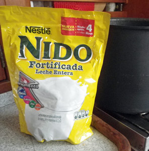 Nido brand powdered milk is readily available in Mexico.