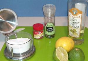 Salt, pepper, and and acid (vinegar, lemon, or lime) are standard tools for adjusting seasoning.